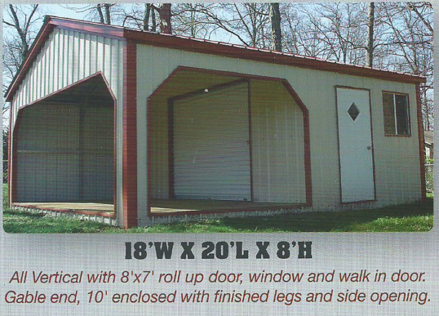 Steel Storage Shed