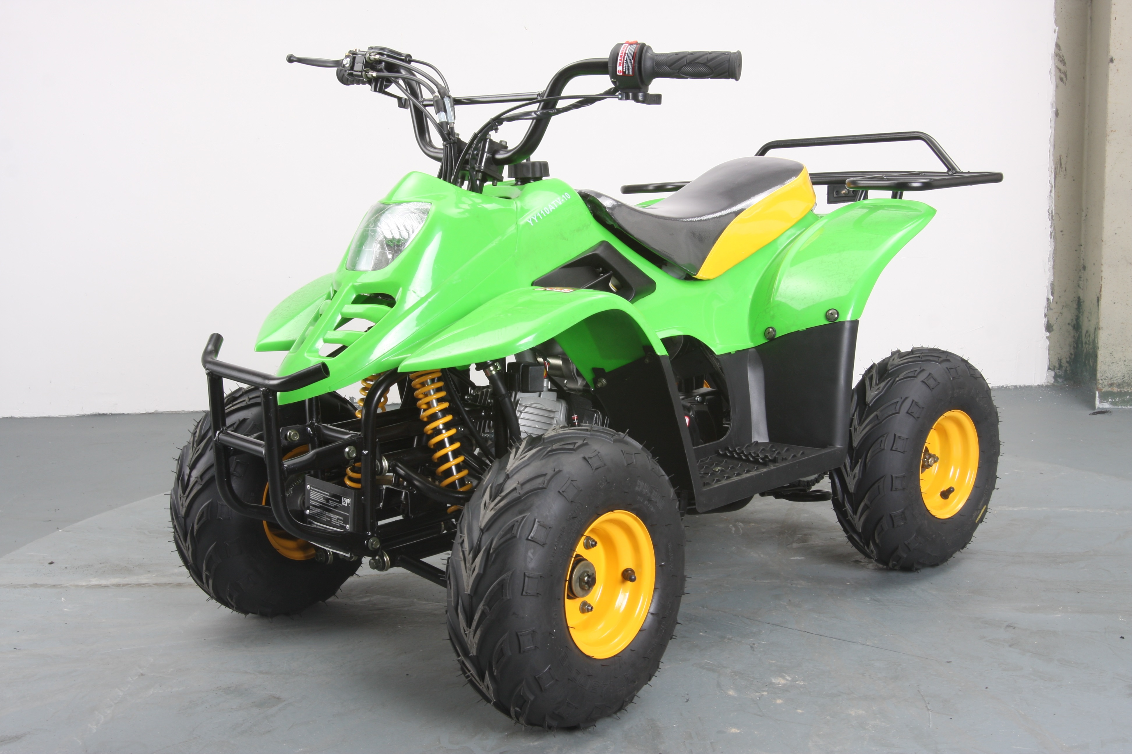 Hawk 6 110cc Atv Get The Max Out Of Life Kill Remote Control Wiring 110 Yellowgreen