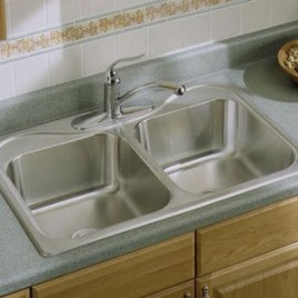 Sterling Southaven 33″ x 22″ x 6-1/2″  SS Sink 11400-5-NA