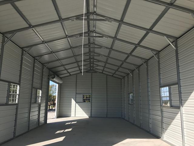 Steel Structure Interior