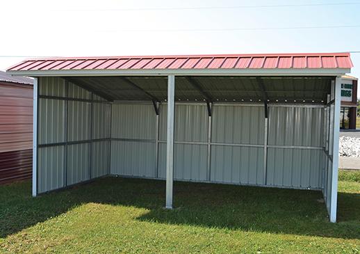 Steel Animal Horse Shelter