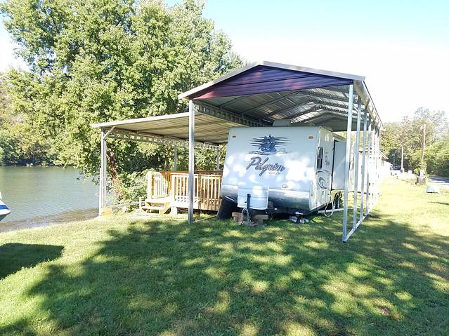 RV Camper Shelter Carport