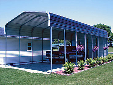 Large RV Carport Storage shelter