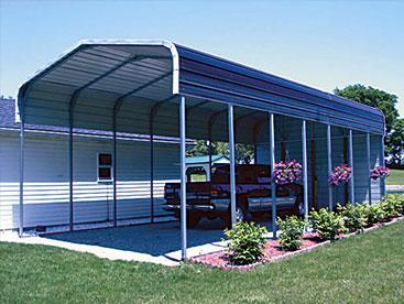 Large RV Carport Storage shelter