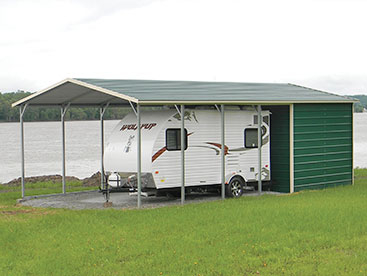 RV Carport Shelter Storage