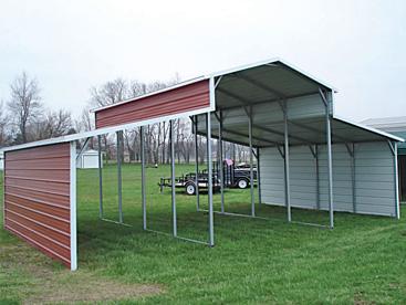 Multi Bay Carport Shelter