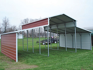 Steel Barn Shelter