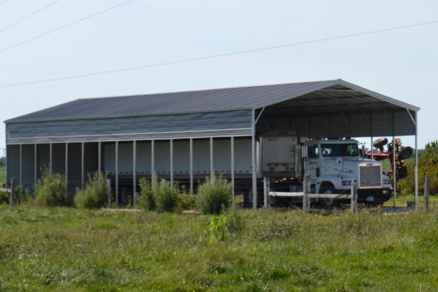 Grain Truck Steel Shelter