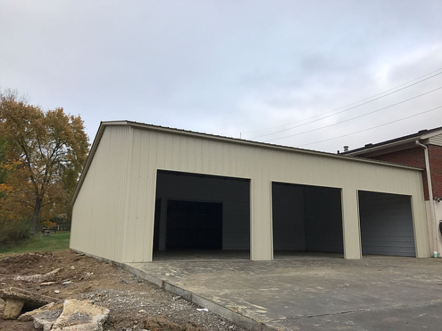 Custom Steel Attached Structure Building