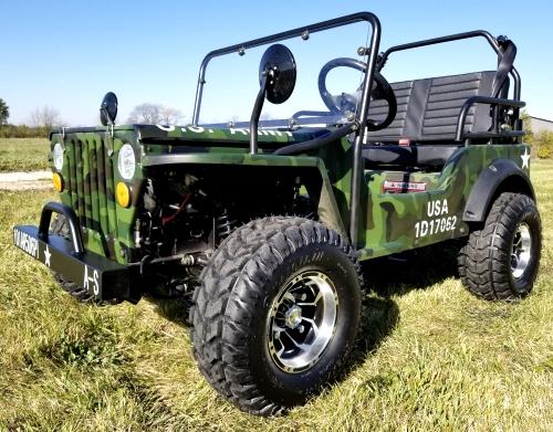 Mini Jeep Military Commando 125