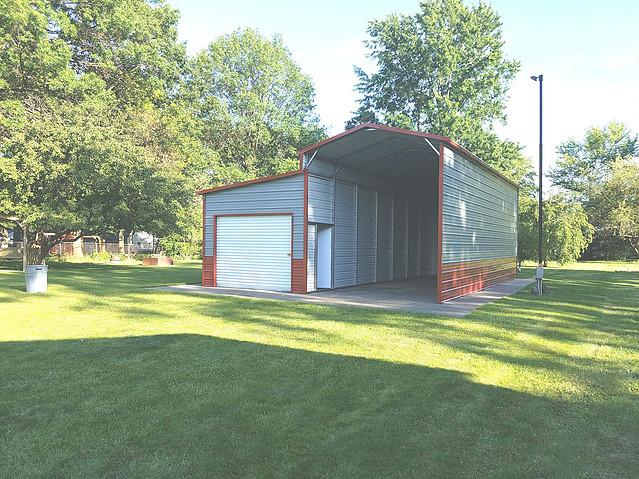 RV Camper Shelter Carport Garage
