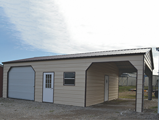 All Steel Garage Shop