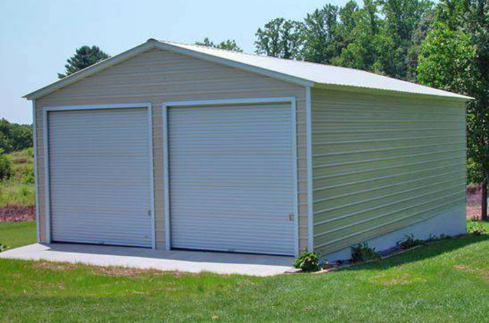 All Steel Garage Shop